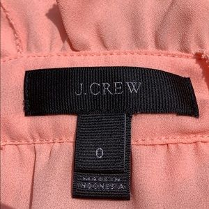 J. Crew Tops - J.Crew size 0 peach top